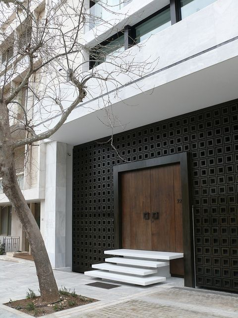 Modern Greek Architecture modern greek architecture | athens, doors and entrance doors