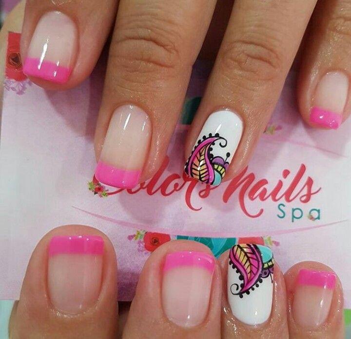 Pin de CRISTINA SANCHEZ en uñas   Pinterest   Diseños de uñas ...