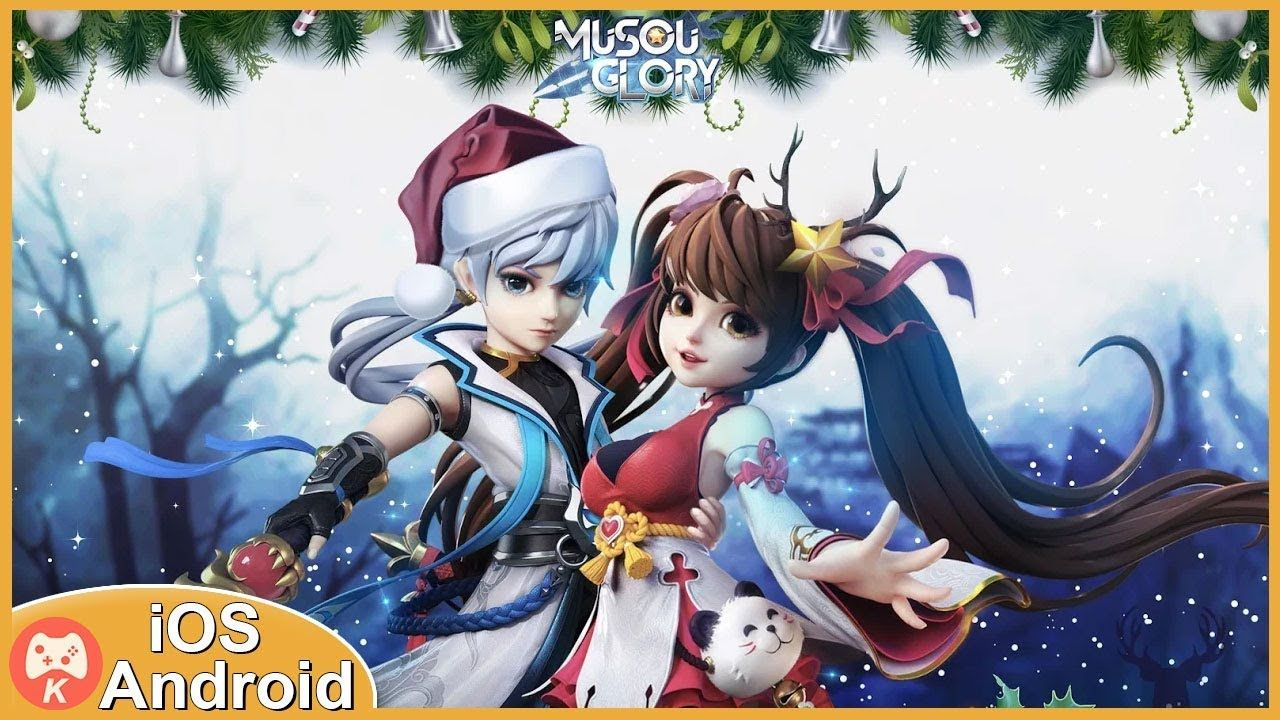 Musou glory gameplay mmorpg open world ios android games