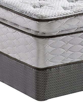 Serta Perfect Sleeper Elite Gentle Isle Plush Pillowtop Queen Mattress Set