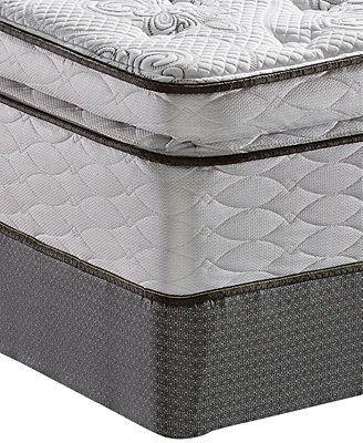 Serta Perfect Sleeper Elite Gentle Isle Plush Pillowtop Queen Mattress Set