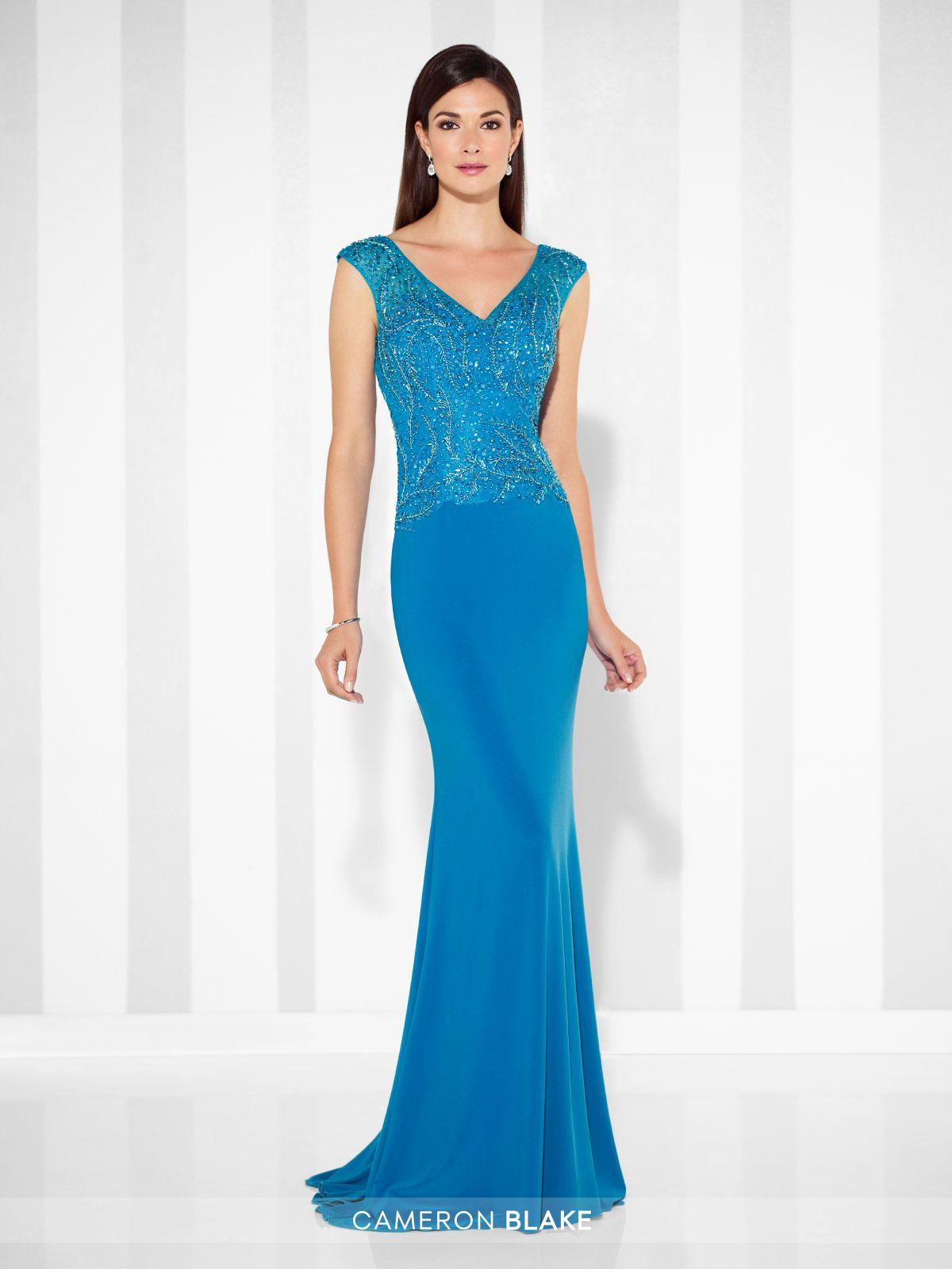 117605 | Vestidos invitada, Vestido bordado y Vestidos fiestas