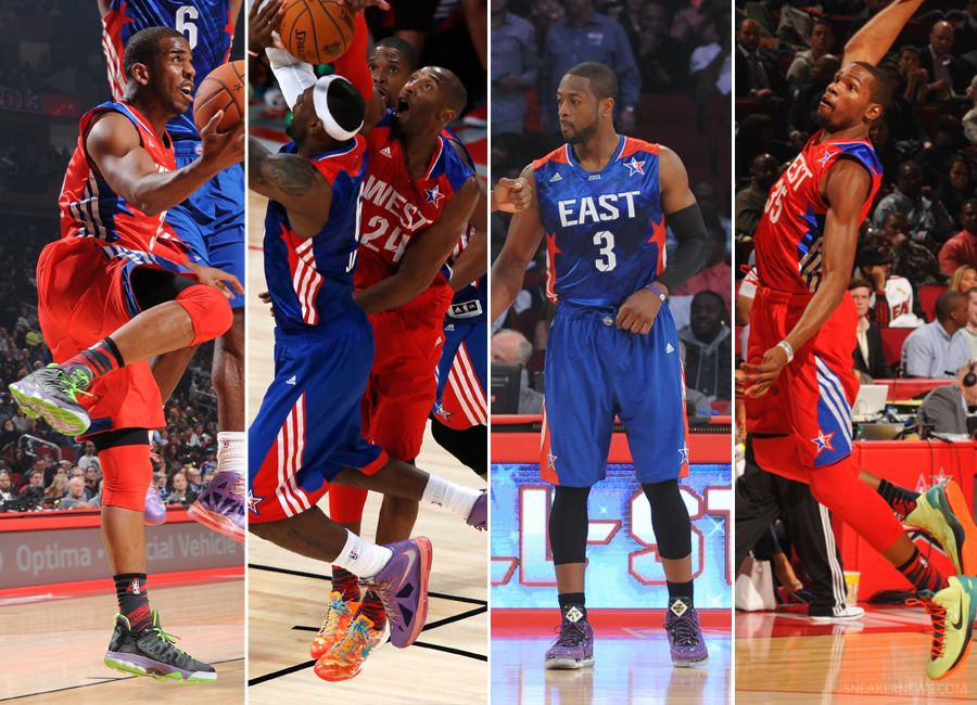 NBA Feet 2013 AllStar Game Recap