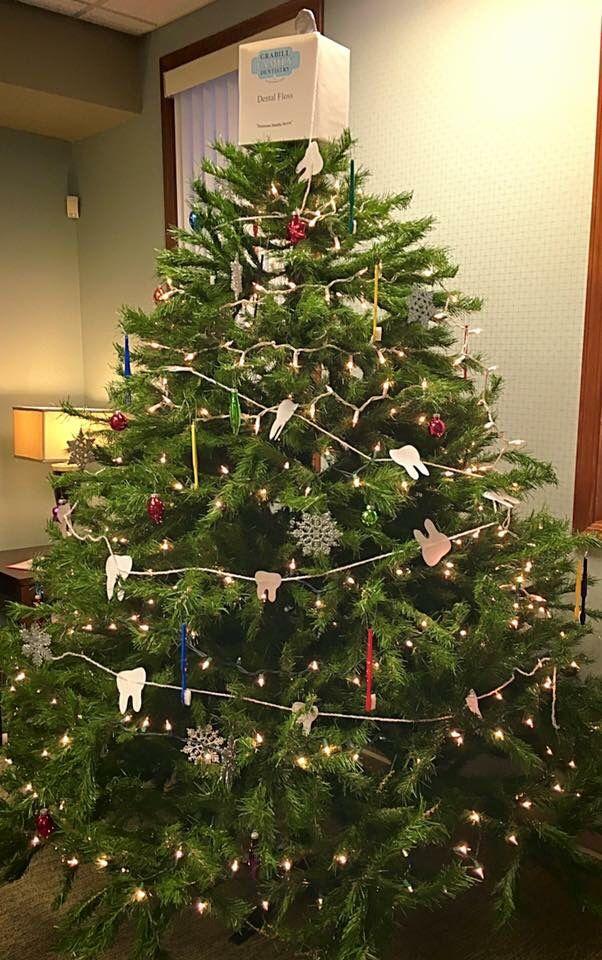 Our Dental Christmas Tree Dentist Dentistry Christmas Tree