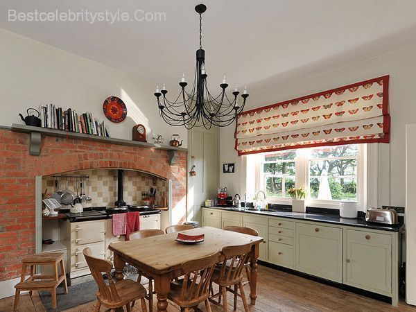 awesome 25 Lively Country Kitchen Ideas | Best Celebrity Style ... on kitchen island sink ideas, kitchen dinning room ideas, kitchen sitting area ideas,