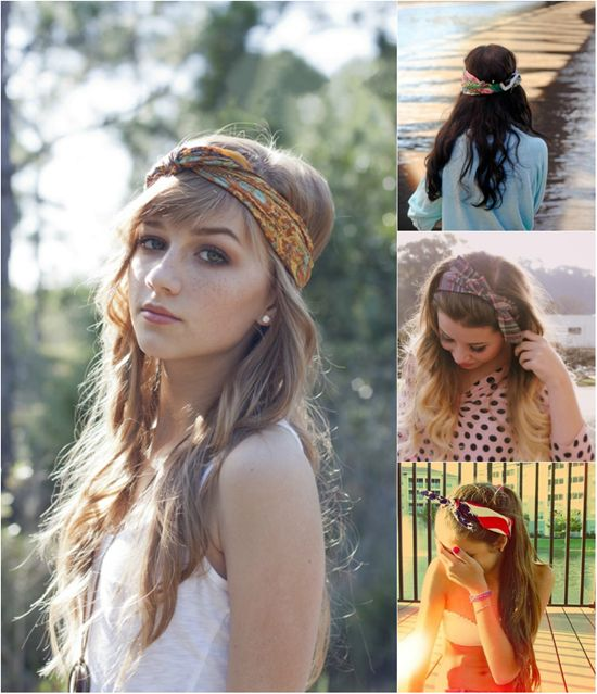 Headband and Hair Extensions for Short Hair Can Make Perfect Autumn ...