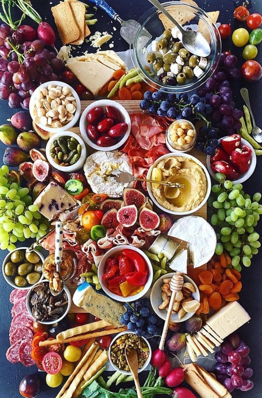 Pin By Sigrid On Charcuterie Food Platters Cheese Plate Presentation Cheese Board