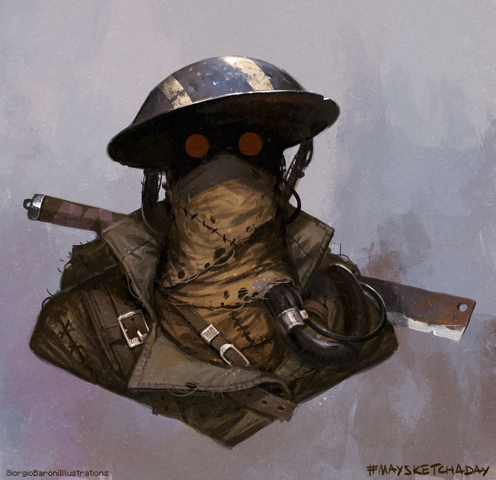 Apocalyptic Soldier Pics: Pin By John Valenti On Concept Art