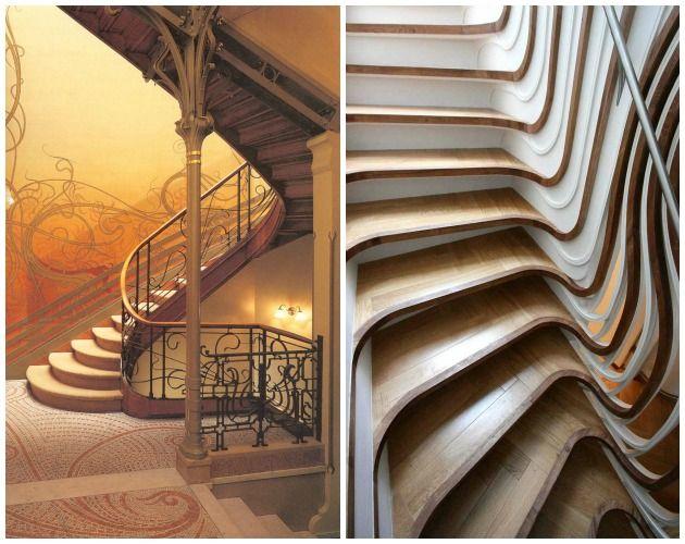 Quelle est la différence entre Art Nouveau et Art Déco ? | Painted ...