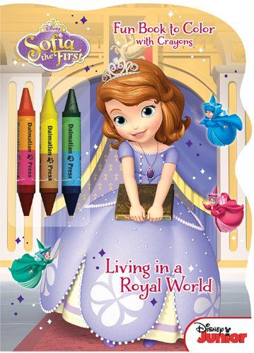 Disney Junior Sofia the First Living in a Royal World Shaped
