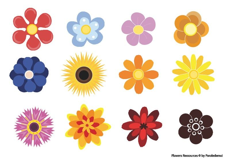 Pin by Sharry Miller on 60s Flower Power | Free flower ...