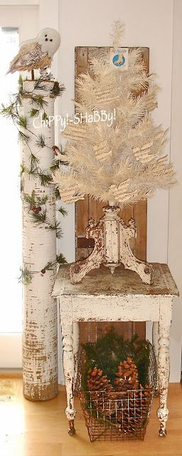 ChiPPy! - SHaBBy! Christmas Displays using ViNtaGe Crafts