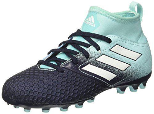 Adidas X 17.4 FxG J, Zapatillas de Fútbol para Niñas, Multicolor (FTWR White/Energy Blue/Clear Grey), 36 2/3 EU