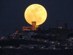 Superluna en España agosto de 2014