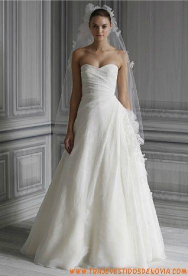 P/V Inez Vestido de Novia Monique Lhuillier | vestidos de novia ...