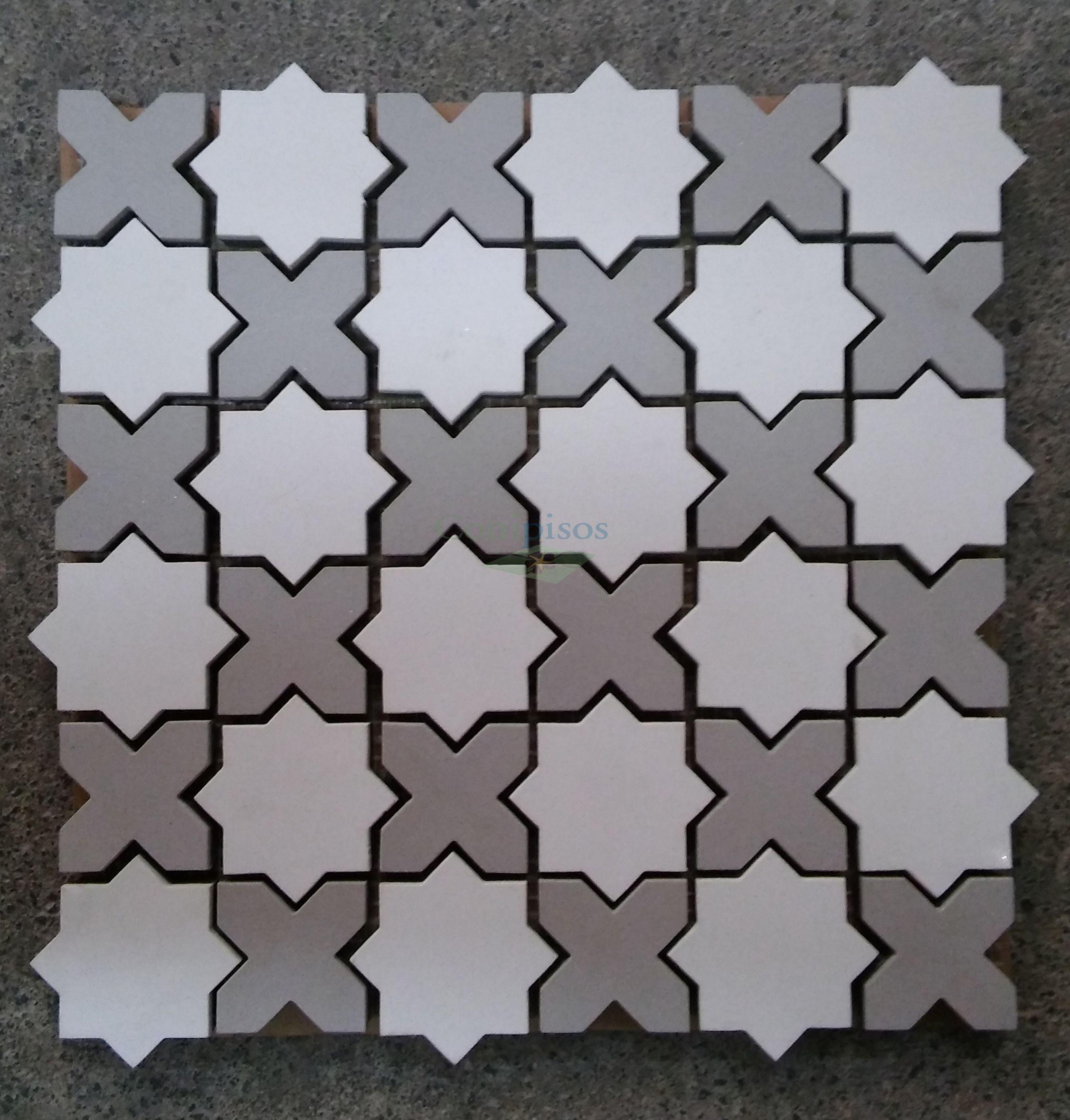 Lo mejor consiste en los #detalles. #Mosaicos #tiles coleccion#mini ...