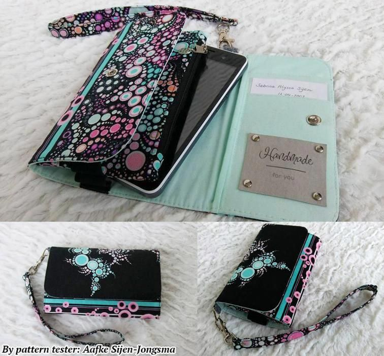 Bring the Basics Bag Cell Phone Wallettwo sizes