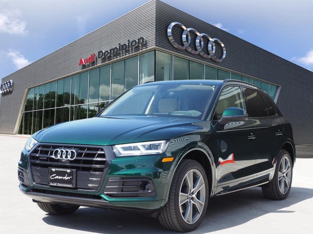 Audi Q5 2020 45tdi Azores Green