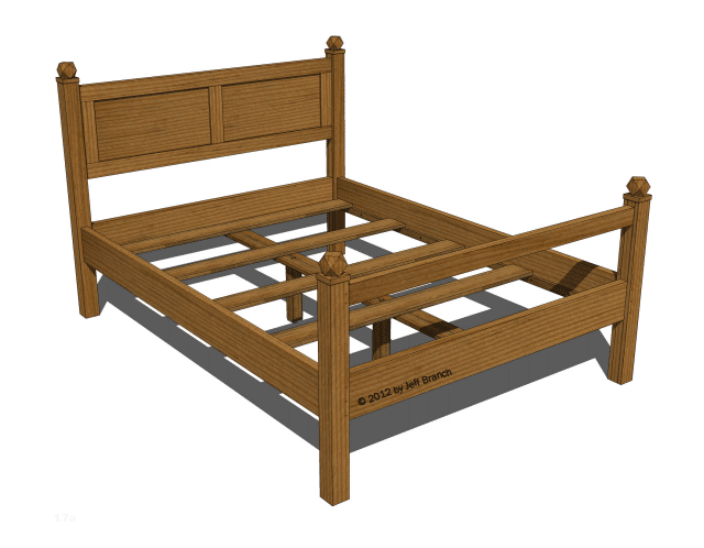 17 Free Diy Bed Plans In 2018 Stuff To Build Pinterest Diy Bed