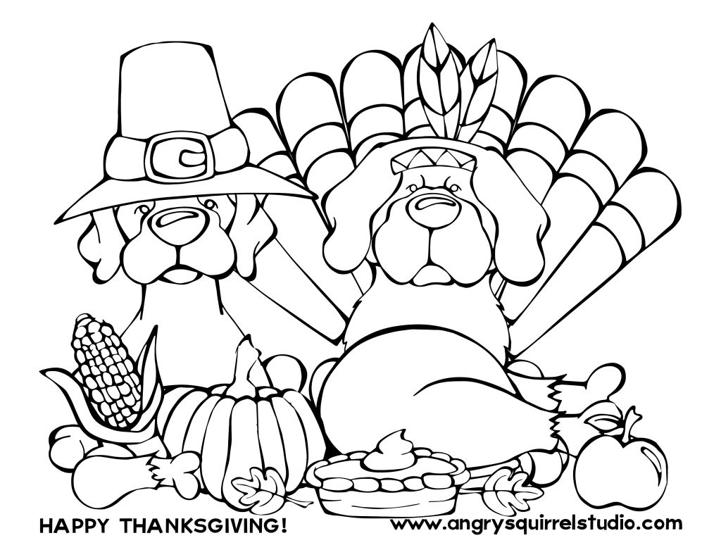 Happy Thanksgiving from Angry Squirrel Studio. While you