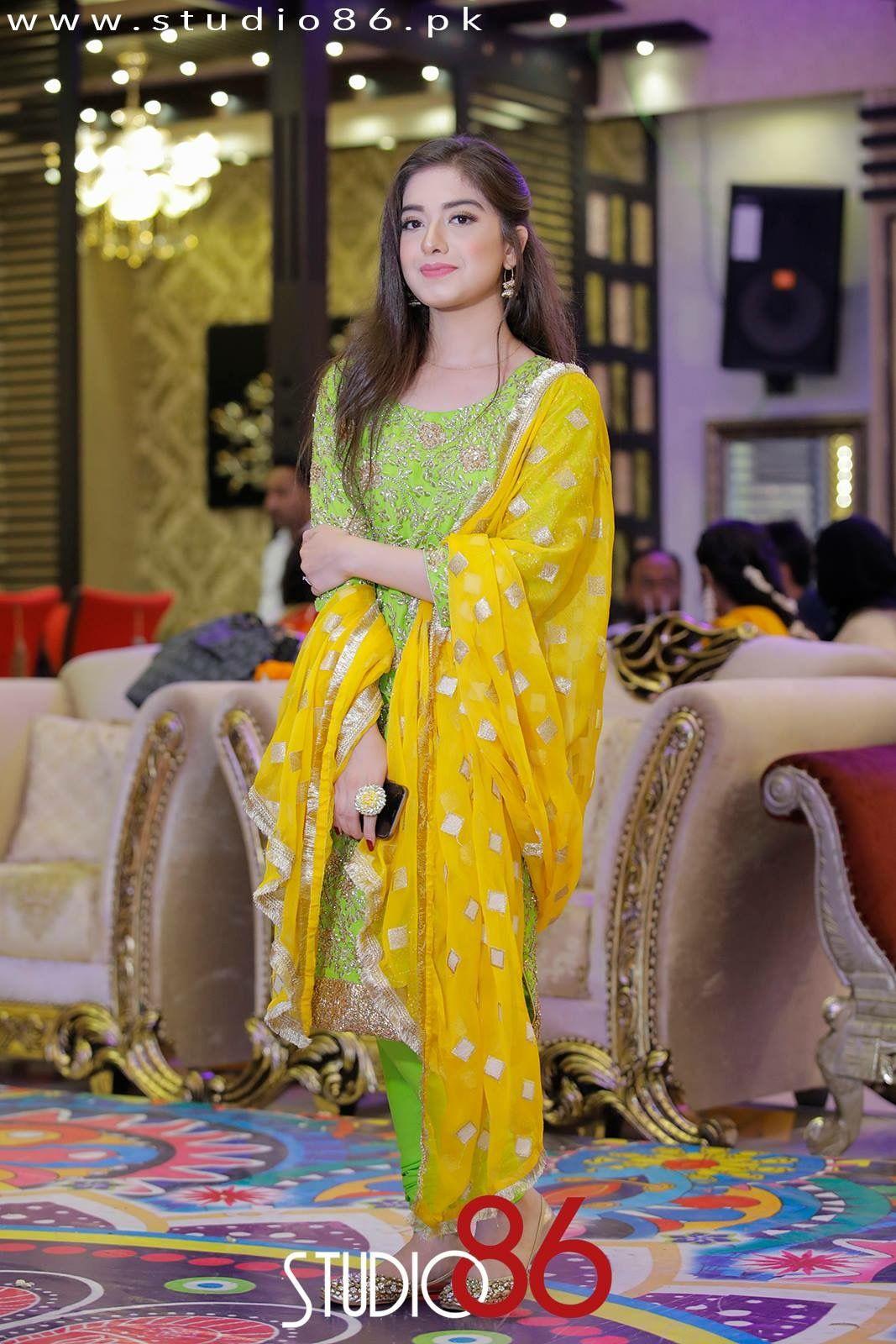 Brides sister mayun dress