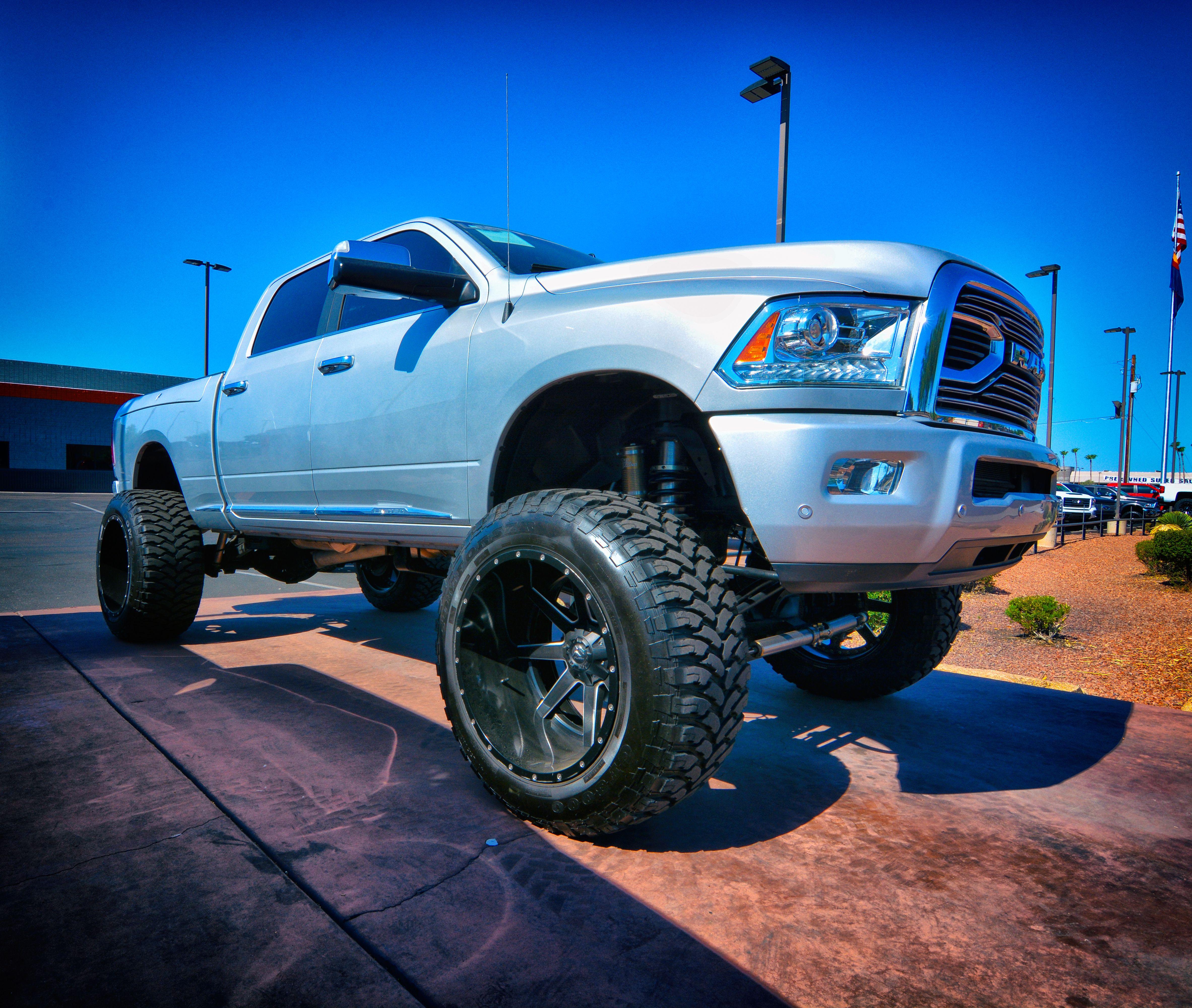 Fabtech lift fuel wheels cummins diesel and much more