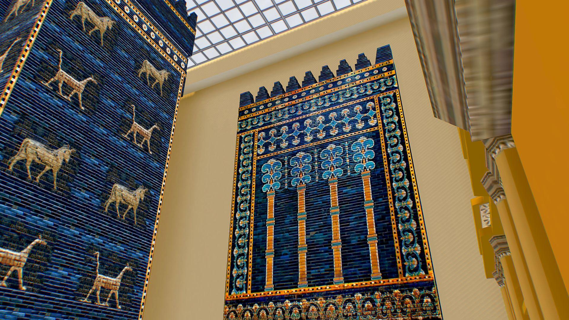 Pergamon Museum Babylon Mesopotamia Ishtar Gate Pergamon Museum Pergamon Mesopotamia