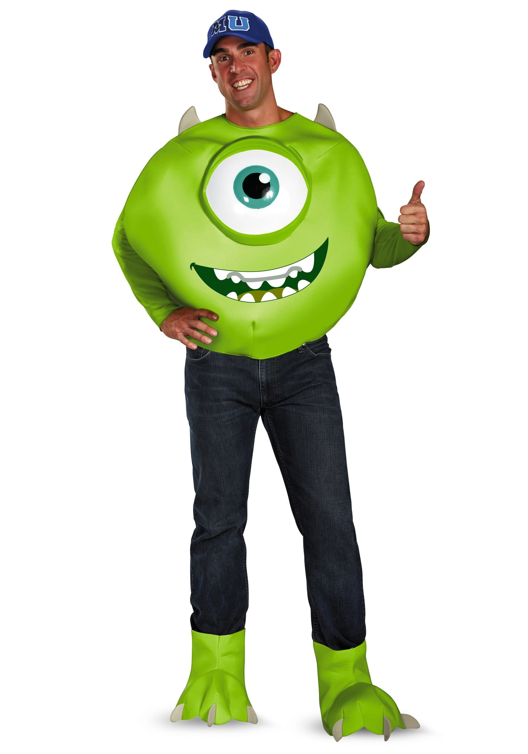 monsters inc plus size deluxe mike costume - Sully Halloween Costumes Monsters Inc