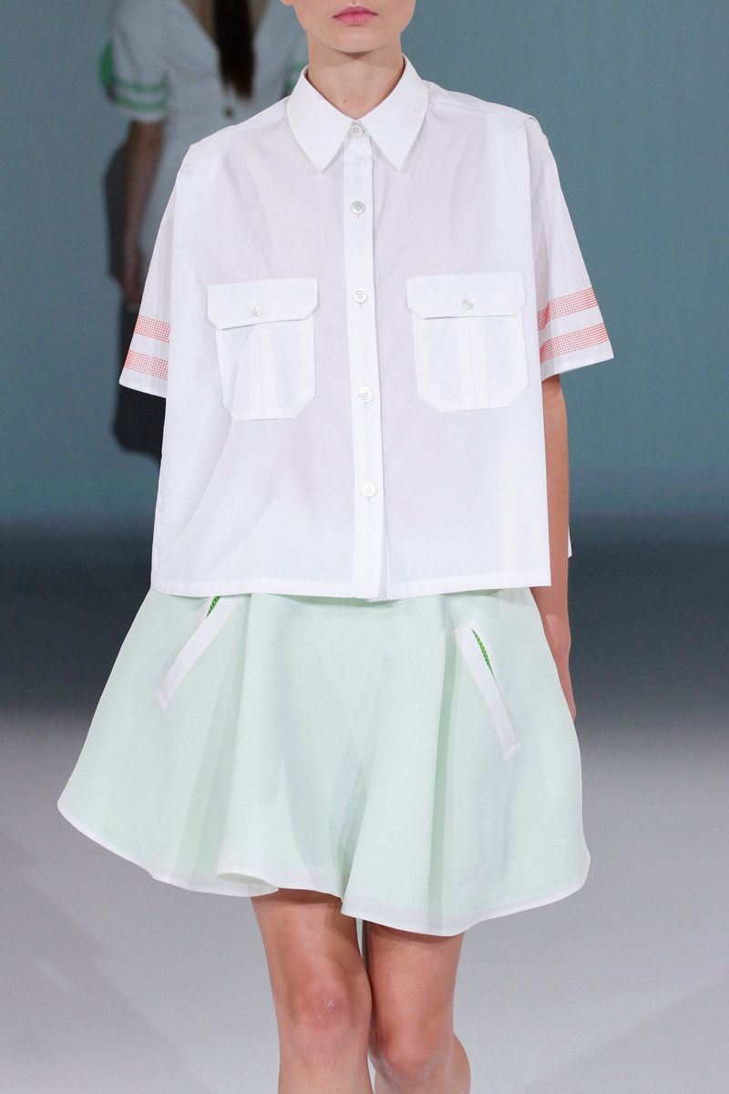 oversized shirt - White Hussein Chalayan Pre Order Sale Online FAbN3