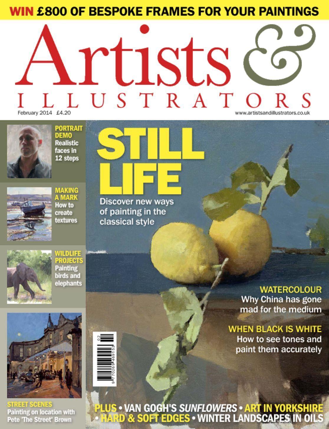 February 01, 2014 issue of Artists & Illustrators