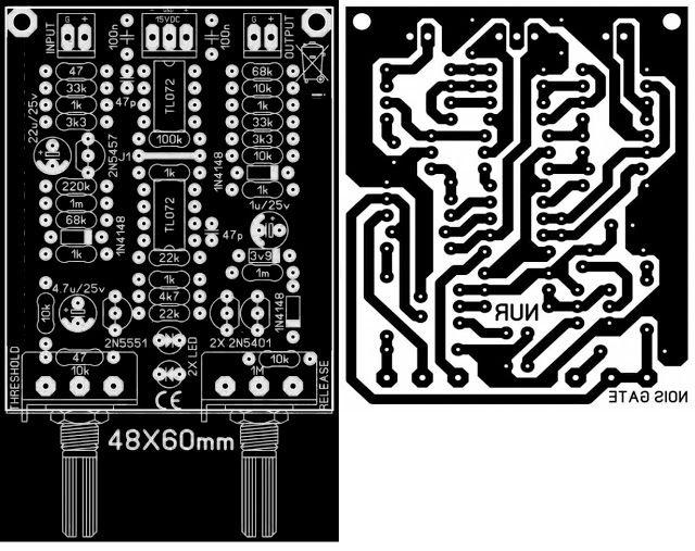 PCB NOise Gate driver circuit | PCB\'s Layout Design | Pinterest ...