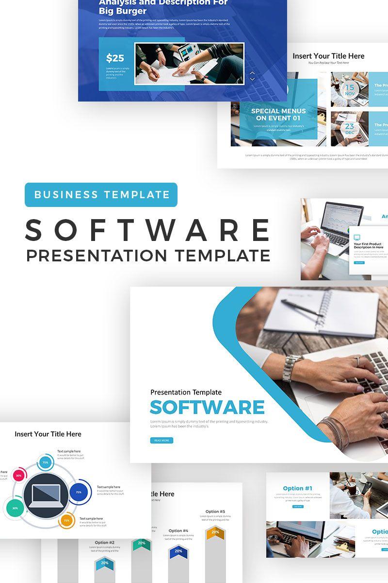 Software Analysis Powerpoint Template Like Design Pinterest