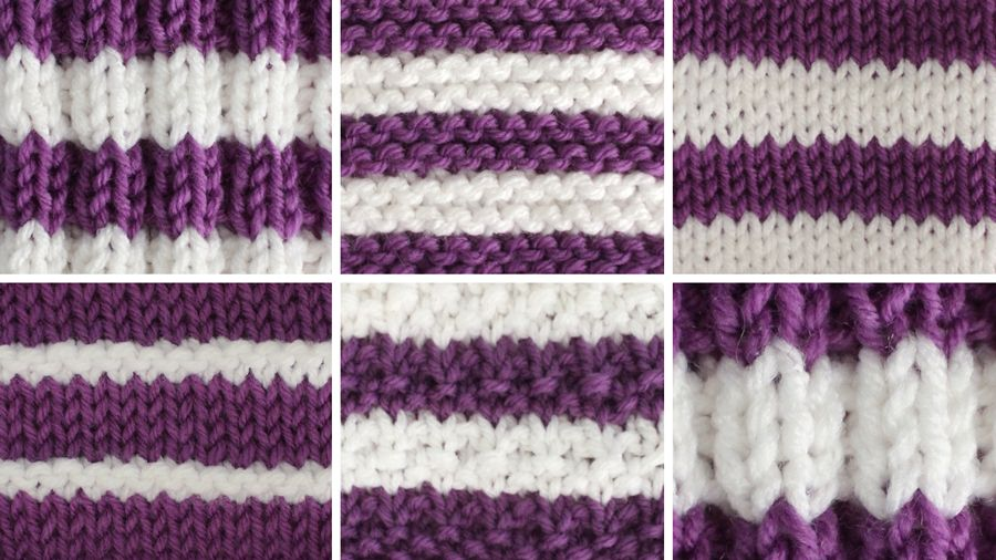 How to Change Yarn Colors While Knitting Knitting
