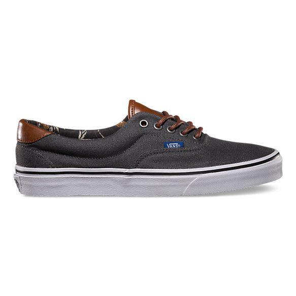 Buy mens vans dark grey era 59 trainers c751f6f62b