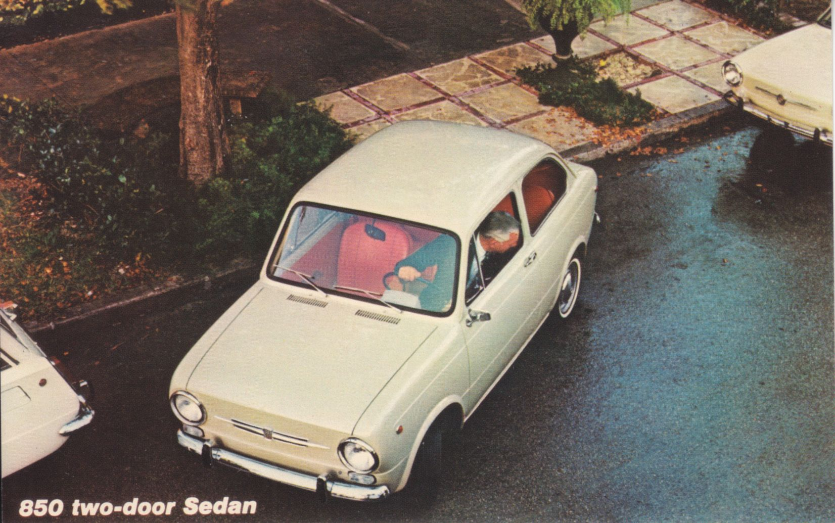Fiat 850 2 Door Sedan Usa Year 71 Ruedas