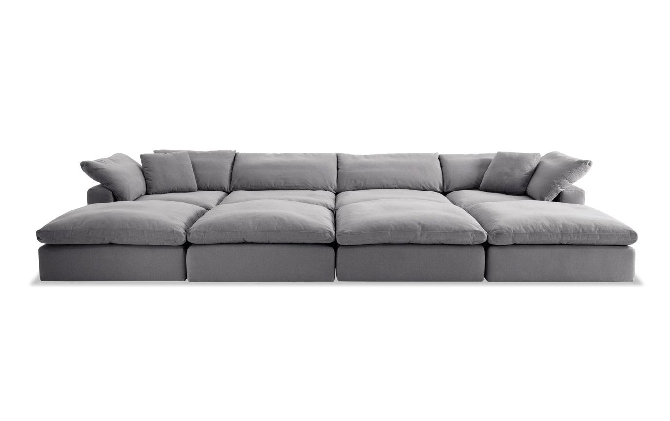 Best Dream Gray Modular 8 Piece Sectional With Images 640 x 480