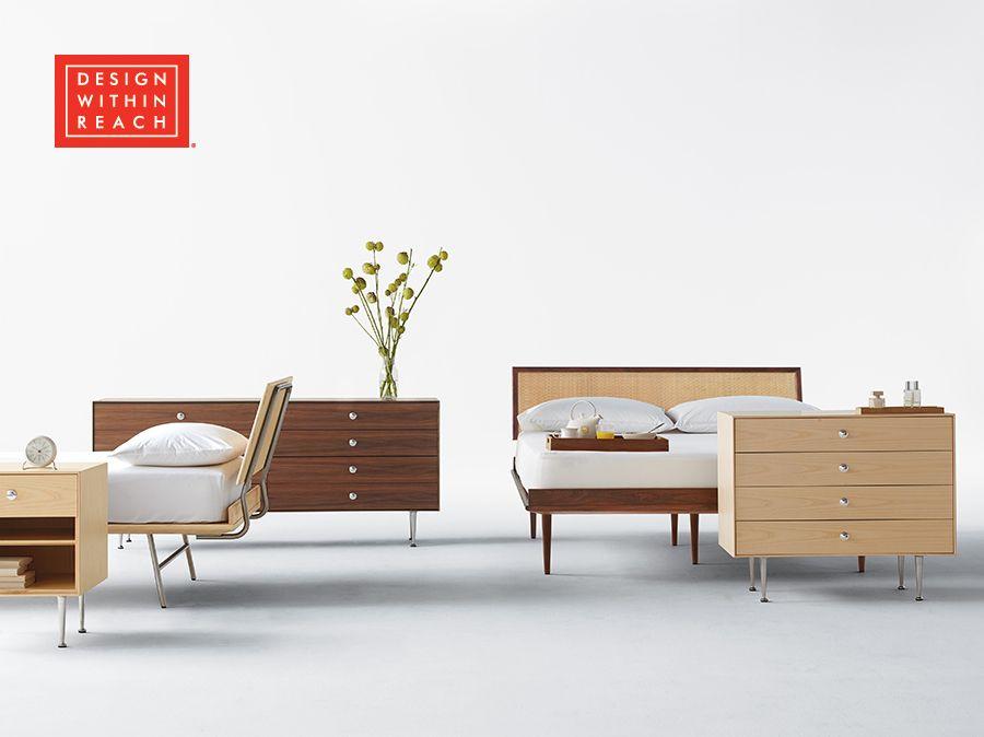 Nelson Thin Edge Bed For Herman, Herman Miller Bedroom Furniture