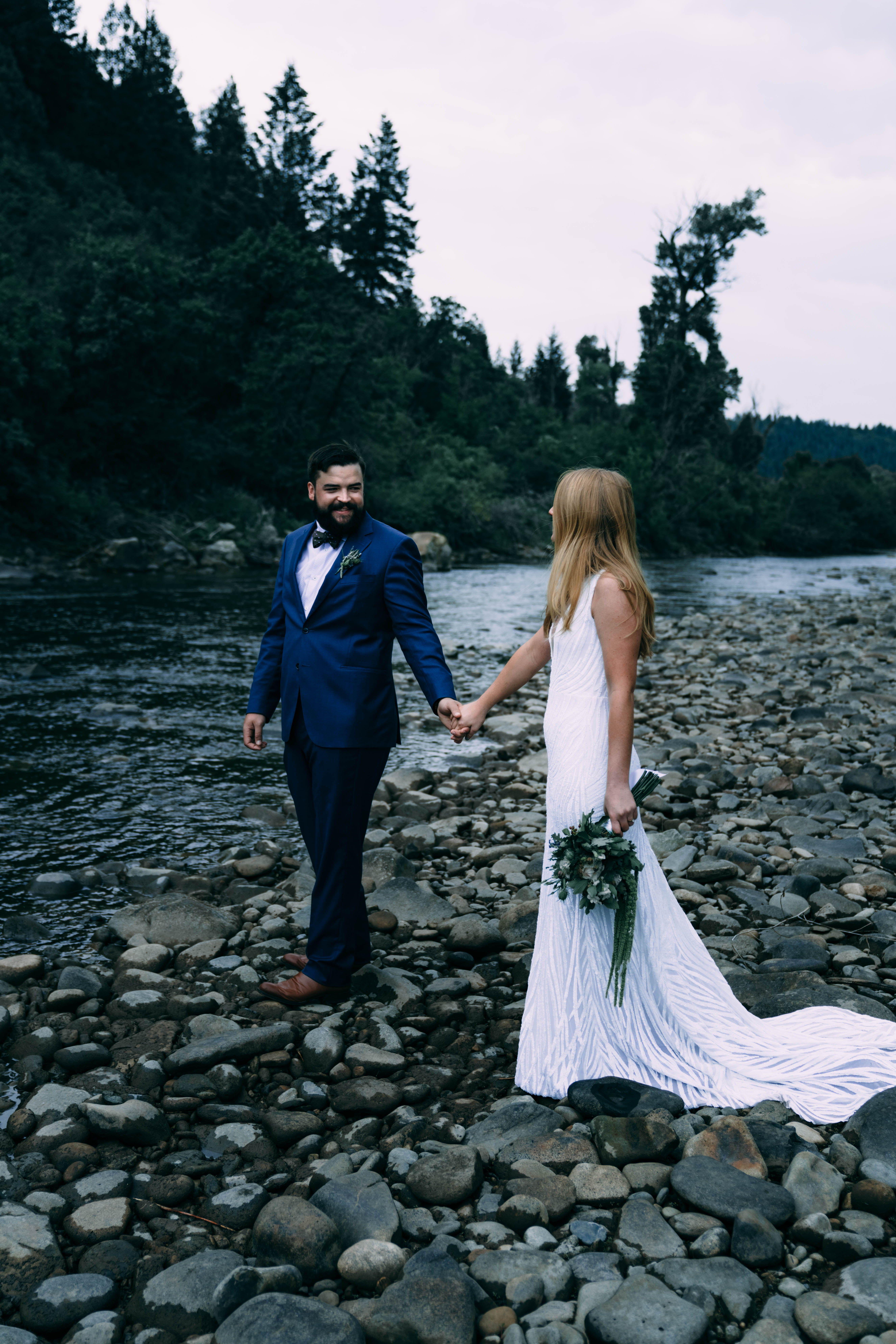 Sw colorado wedding emily elie in bride groom