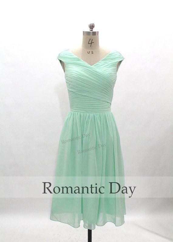 A Line Party Dress Mint
