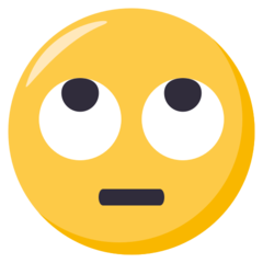 Face With Rolling Eyes On Emojione 3 0 Eye Roll Smiley Emoji Emoji