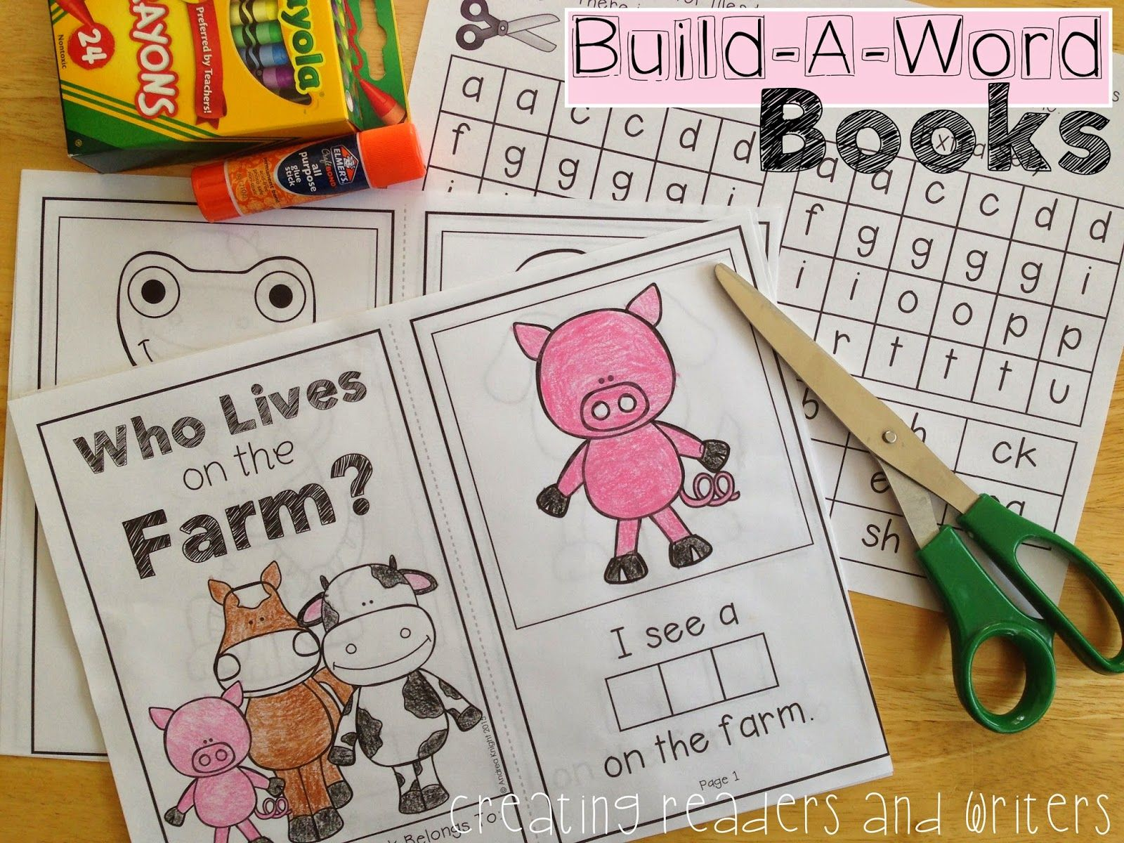 Build A Word Books