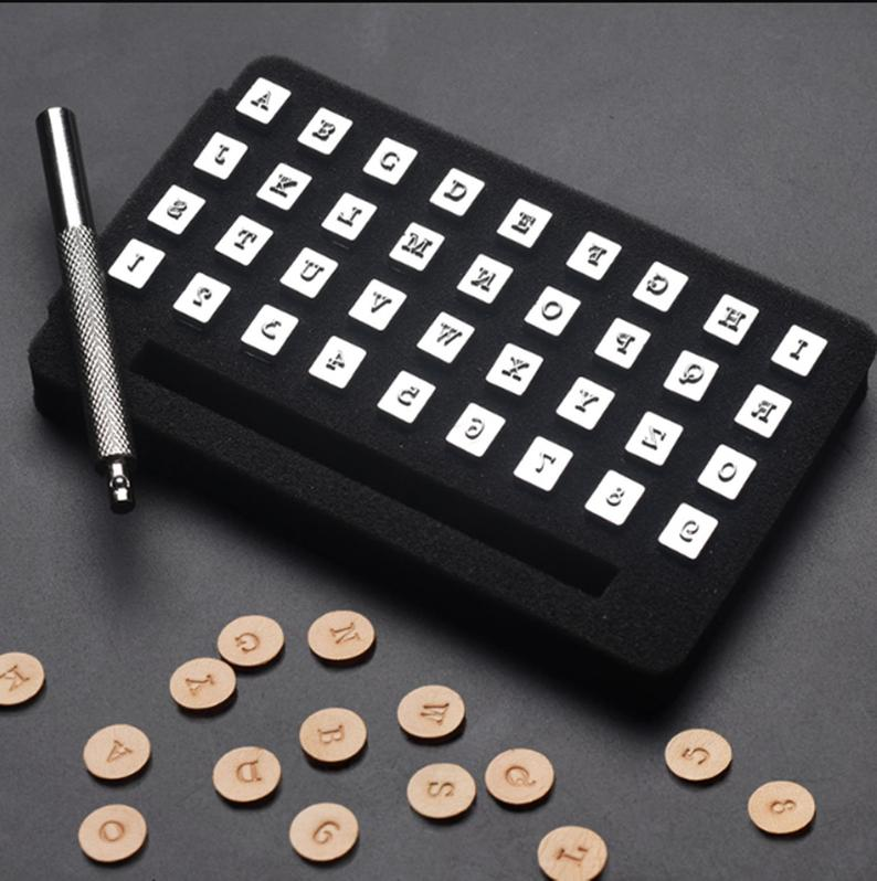 36pcs Metal Steel Stamp Alphabet Letters 3 6mm Tool Punch Etsy Steel Stamp Diy Leather Craft Tools Leather Punching Tool
