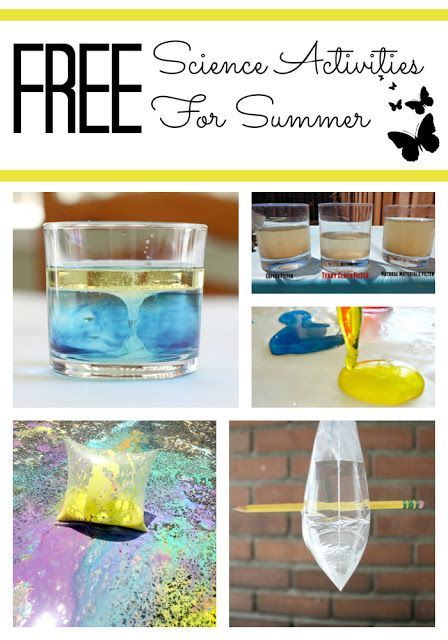 52 Free Science Projects for Elementary School | Summer ...