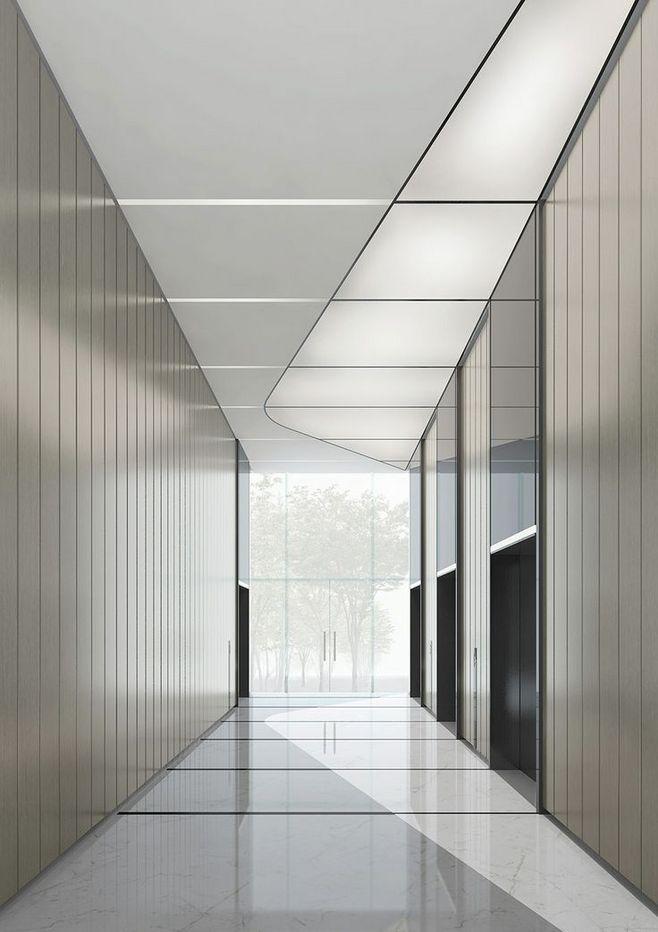 Hangzhou Xintiandi O Innen Buro Korridor Design Buroraumgestaltung