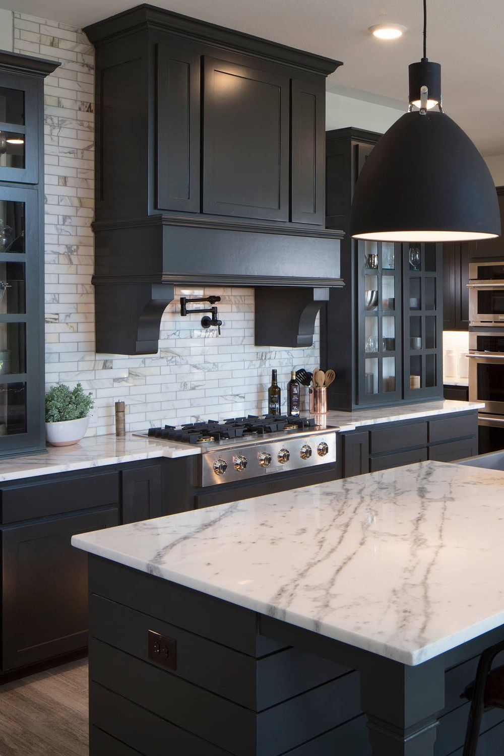 Charcoal Gray Kitchen Cabinets ( Dark or Light?)