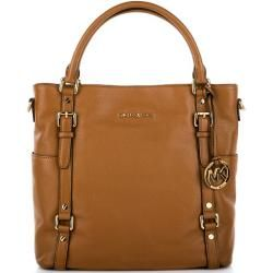 Bedford LG NS Tote Leather Luggage Brown