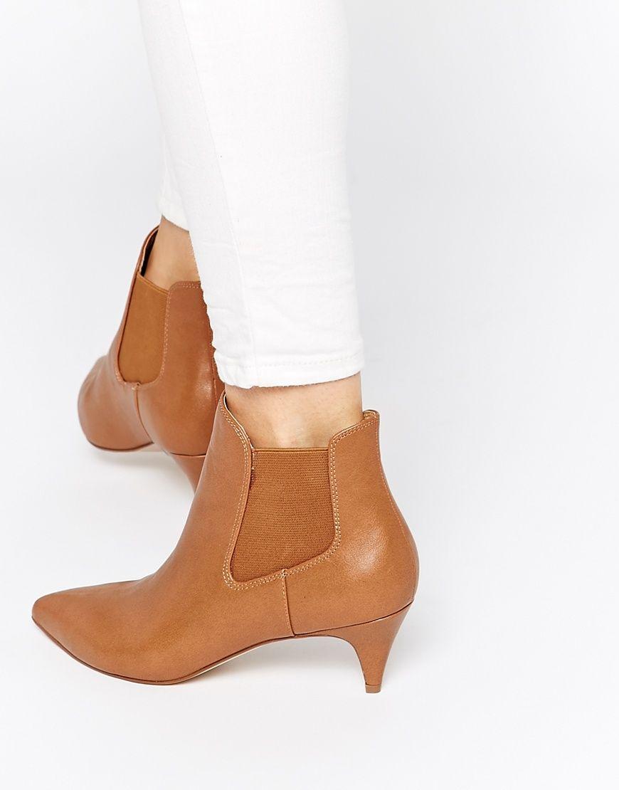 Asos Redchurch Kitten Heel Ankle Boots Kitten Heel Ankle Boots Boots Kitten Heel Boots