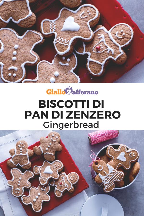 Biscotti Classici Di Natale.Biscotti Di Pan Di Zenzero Gingerbread Ricetta Ricette Di
