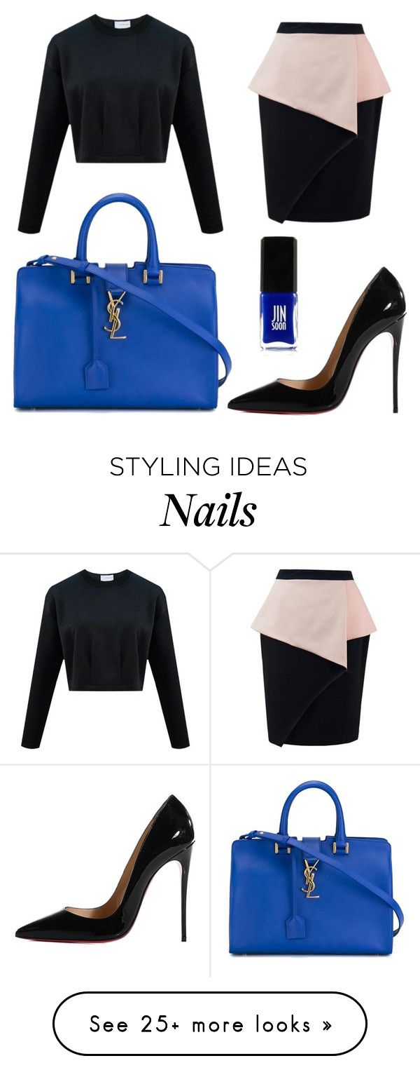 """Untitled #336"" by beegeecroatia on Polyvore featuring Yves Saint Laurent, Christian Louboutin and Jin Soon"
