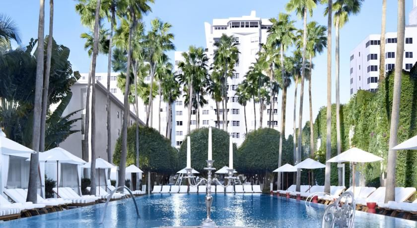 Delano South Beach Miami Set On The Soft Sands Of This Urban Hotel Features A Unique Main Floor With Indoor And Outdoor Areas